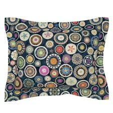 Mandala Circles Decorative Modern Home Ditsy Pangolin Pillow Sham by Roostery