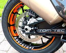 Motorrad Felgenaufkleber Dekor KTM 1050 1090 1290 Super Adventure S SA SAS