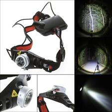 8000 LM CREE Q5 LED Ultra Bright Zoomable Flashlight Headlamp Headlight AAA GL