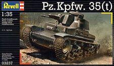 Pz.Kpfw. 35(t) GERMAN TANK REVELL 1/35 PLASTIC KIT