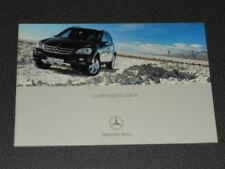 MERCEDES-BENZ SUV classe M brochure catalogue souple édition 01/2005
