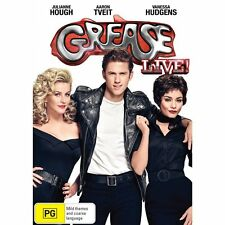 GREASE LIVE! (2015 Aaron Tveit)  -  DVD -UK Compatible sealed
