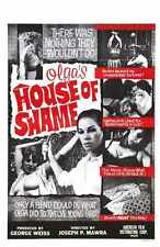 Olgas House Of Shame Poster 01 A2 Box Canvas Print