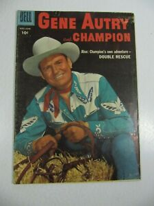 Gene Autry and Champion #109 (Dell Comics 1956) Silver Age Western VG