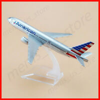 American Airlines 16cm Boeing 777 Child Birthday Gift Alloy Metal Model Aircraft