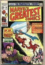 Marvel's Greatest Comics #23-1969 vg Fantastic Four Giant Size / 1st issue