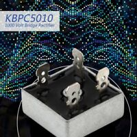 KBPC5010 1000 Volt Bridge Rectifier 50 Amp 50A Metal Case 1000V Diode Bridge XB