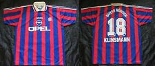 Jürgen Klinsmann #18 BAYERN MUNICH  home shirt jersey ADIDAS 1995-97 men SIZE XL