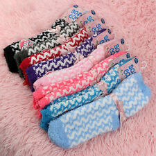 New 5 Pairs Ladies Soft & Cosy Feather Fluffy Lounge Bed Socks Extra Warm UK 4-8
