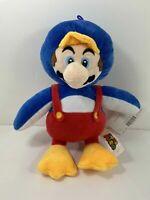 "Official Nintendo Super Mario Penguin Mario Plush 12"" NEW WITH TAGS"