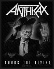 ANTHRAX - Patch Aufnäher - Among the living 10x7cm