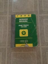 1998 DODGE RAM TRUCK 1500 2500 3500 FACTORY WORK SHOP SERVICE REPAIR MANUAL BOOK
