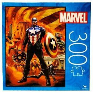 300 Piece Puzzle- Captain America