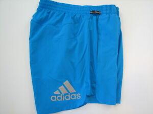 "Adidas Primeblue Saturday Shorts 5"" Men's Sharp Blue Parley M"