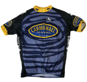 GIORDANA Mens L Carmichael Training Systems Cycling Jersey