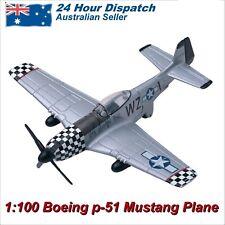 Motormax Sky Wings P-51 Mustang Die-Cast Plane 1:100 Scale Richmond Toys