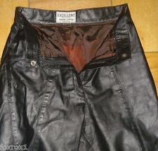 Genuine Leather Craft Process Excellent Stylists Women Pants Size 5 / 6 Small