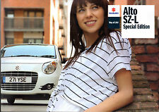 Suzuki Alto SZ-L 1.0 Limited Edition 2010 UK Market Sales Brochure