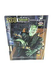 VTG Monsters Frankenstein 200 Piece Golden Puzzle Sealed New Universal Studios