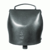 campana chamonix in acciaio al carbonio da mm 142x127 campano mucche bovini