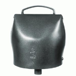 Campana chamonix n.12 in acciaio al carbonio da mm 142x127 campano mucche bovini