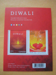 Beautiful 2017 Canada-India Joint Issue Miniature Sheet - Limited Edition