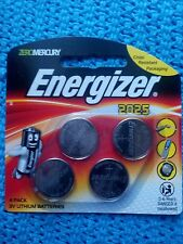 energizer 2025 4 pack 3v lithum batteries