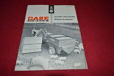 Case Tractor 1100 Mixer Blender Wagon Dealer's Brochure YABE8