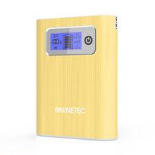 NINETEC 13.000mAh PowerBank Mobiler Ladegerät für Samsung Galaxy S4 gold NT-568