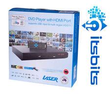 LASER DVD HD011 HD DIGITAL DVD PLAYER HDMI RCA & REMOTE USB PORT MULTI REGION