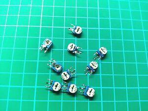5PCS / 10PCS Potentiometer Vertical Trimpot Trimmer Variable Resistor WH06-1