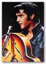 ROCK MUSIC POSTER Elvis Presley The King of Rock 'n' Roll