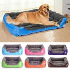 Pet Calming Bed Dog Cat Sleeping Kennel Puppy Super Soft Mat Pad Warm Nest