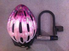 Bike equipment : helmet and locker