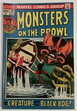 MONSTERS ON THE PROWL # 19 - MARVEL COMICS - OCTOBER 1972