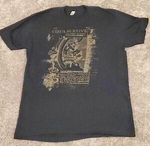 Circa Survive Band t-Shirt Medium