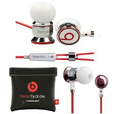 Beats by Dr. Dre Ibeats en Ear auriculares Headset con micrófono-metalizado Weiss