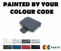 BMW E90 M SPORT REAR BUMPER TOW EYE HOOK COVER PAINTED BY YOUR COLOUR CODE