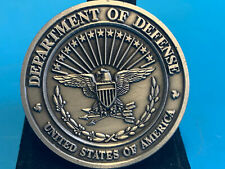 DHRA Department Of Defense Personnel & Readiness Challenge Coin Pewter
