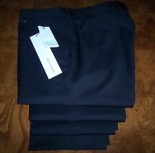 New KRIS VAN ASSCHE Black Pants 52 ITALY