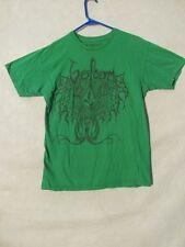 S4708 Volcom Hombre Mediano Verde Manga Corta Camiseta con Imagen