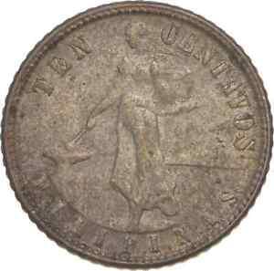 Better - 1944 Philippines 10 Centavos - TC *762