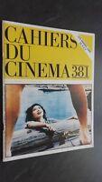Revista Mensual Cuadernos de La Cinema 381 Mars 1986 Buen Estado