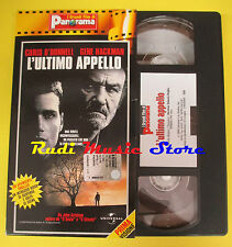 film VHS L'ULTIMO APPELLO Chris O'Donnel Gene Hackman PANORAMA ( F65 * ) no dvd