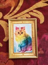 Adorable Rainbow Kitten Baby Cat Rainbow Unicorn ❤️❤️ Christmas Tree Ornament
