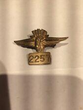 Indianapolis 500 1957 Pit Badge No. 2257