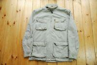 Men's Schott NYC Cotton Military Style Field Jacket Small