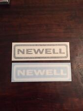 Newell Fishing Reels Decal/Sticker
