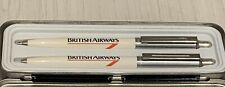 More details for british airways vintage collectable pen and pencil set