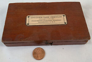 Antique Troemner Apothecary Weight Set w/Box 300 Grain Weights Mid 1800s
